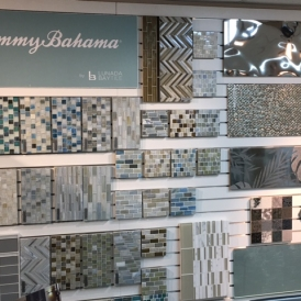 Tommy Bahama Glass Mosaic at CLAD Tile