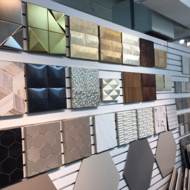 Unique designs from CLAD Tile